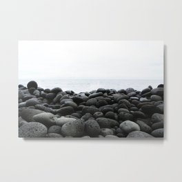 Black Rock Beach Metal Print
