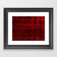 Blood drop  Framed Art Print