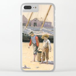 A Basket of Clams Clear iPhone Case
