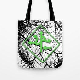 Arrows - Green Tote Bag