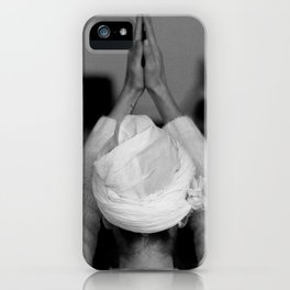 Hands, your hands! iPhone Case