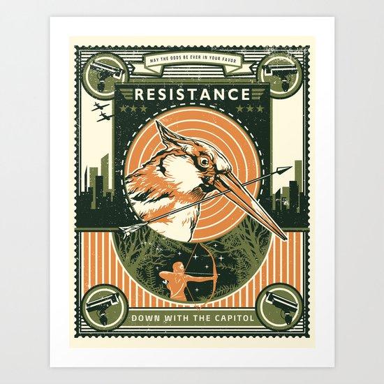 Resistance Art Print