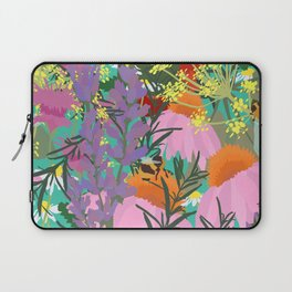 Aromatherapy for the Bees in Spring Teal Green Laptop Sleeve
