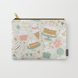 Birthday Celebration Neutral Carry-All Pouch