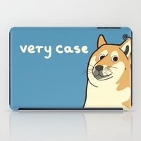 doge iPad Cases featuring Doge by evannave
