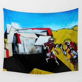It's the Thinness of your Shadow Wall Tapestry