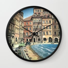 Il mare in paese Wall Clock