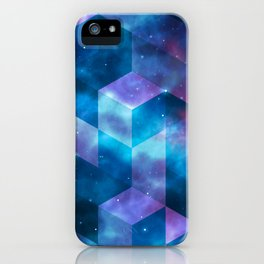 Geometrical shapes iPhone Case