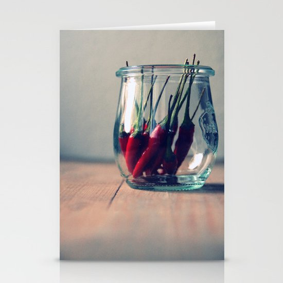 sweet chili  Stationery Cards