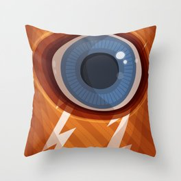 I, Eye Throw Pillow