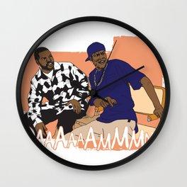 Craig & Smokey Wall Clock