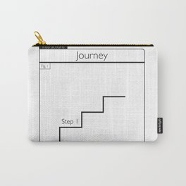 How to Take A Journey Carry-All Pouch