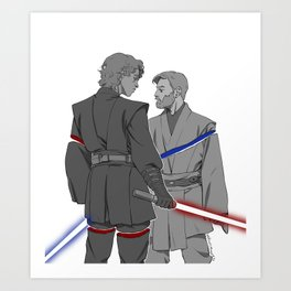You Were My Brother Art Print