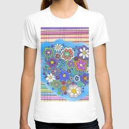 sarape y flore T-shirt