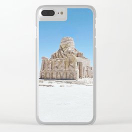 Dakar Rally Bolivia monument Clear iPhone Case