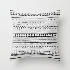 Pattern #1 Throw Pillow