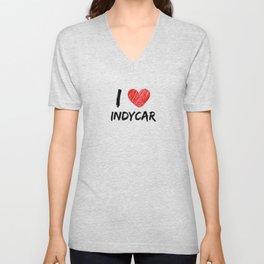 I Love IndyCar Unisex V-Neck