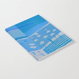 Walk in the Virtual Side, Monochromatic Scenery Notebook