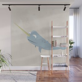 Narwhal Wall Mural