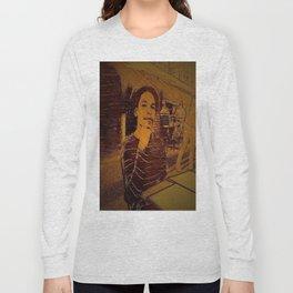Cabsink16DesignerPatternGrandson Long Sleeve T-shirt