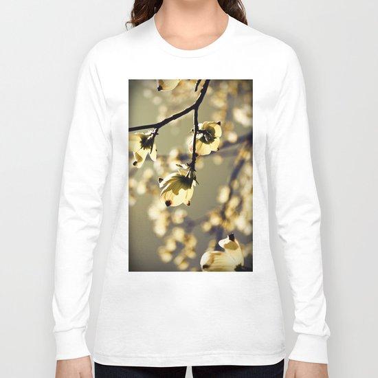 Magical Dogwood Long Sleeve T-shirt