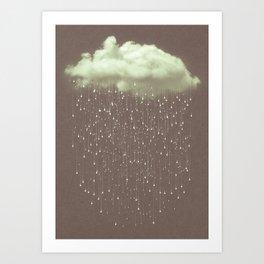 Let It Fall IV Art Print