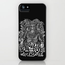 Knowledge is King... iPhone Case