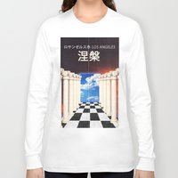 heaven Long Sleeve T-shirts featuring heaven by Kirk Gadget