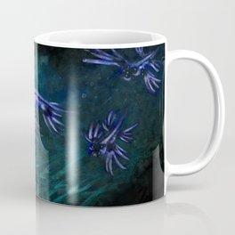 Blue sea slugs, Glaucus atlanticus Coffee Mug