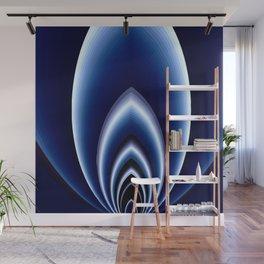 Abstrakt - Polarlicht Wall Mural