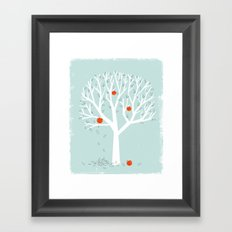 Apple Season Framed Art Print