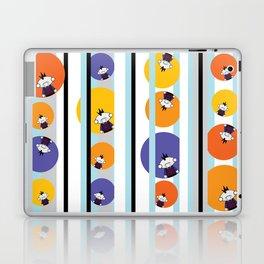 Circles, Stripes & Zombie Matt - Pattern Laptop & iPad Skin