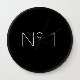 No. 1 Wall Clock