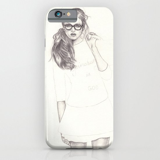 No.6 Fashion Illustration Series iPhone & iPod Case