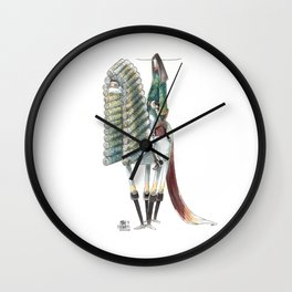 Numero 10 -Cosi che cavalcano Cose - Things that ride Things- SERIE ARGENTO - SILVER SERIES Wall Clock