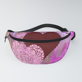 Happy Valentine`s Day Fanny Pack