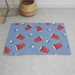 Beer Pong Winner Rug