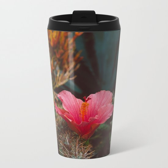 California Bloom III Metal Travel Mug