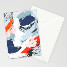 Abstract Color Pop Stationery Cards