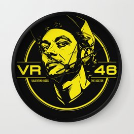 Valentino Rossi Emblem Wall Clock