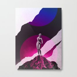 Statue No1 Metal Print