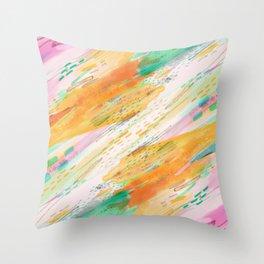 Fibers Throw Pillow