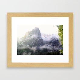 Yosemite Snow Framed Art Print