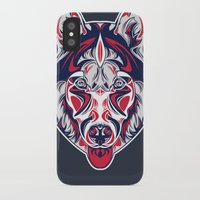 husky iPhone & iPod Cases featuring Husky by Clinton Hamilton