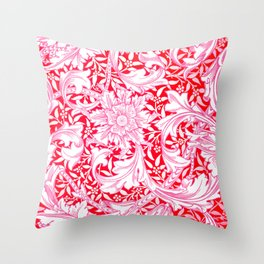 "William Morris ""Single stem"" 3. Throw Pillow"
