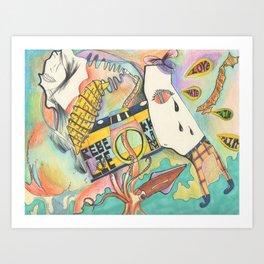 The Forgotten Path  Art Print