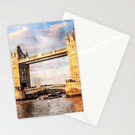 london-tower-bridge-england-bridge Stationery Cards