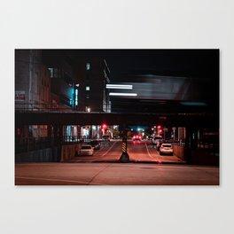 Milwaukee Train Long Exposure Canvas Print