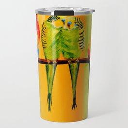 Snuggly Birds Travel Mug