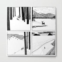 The Long Winter Metal Print